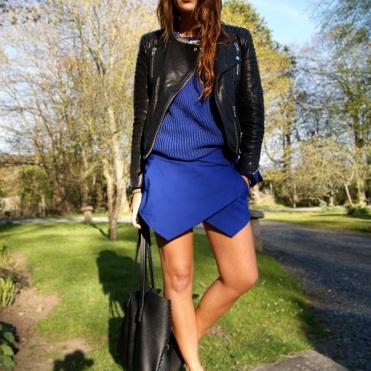 Nicola wears: Jacket- H&M. Sunglasses-Cotton On. Jumper- Sportsgirl. Skorts- Zara. Bag- Sportsgirl. Shoes- Choies.com.