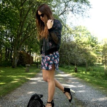 Nicola wears: Jacket- H&M. Dress- Lavish Alice. Bag- Zara. Shoes- Shelikes.